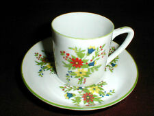 Shafford China Japan PERSIAN GARDEN Demitasse Cup Saucer