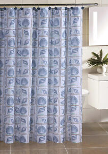 Seashells Shower Curtain By Victoria Classics Ltd Available In 3 Colors Ebay