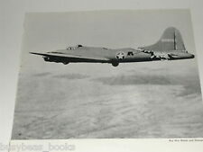 1943 Boeing Aircraft advertisement, Flying Fortress with tail damage, WWII