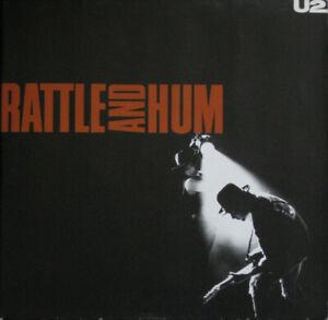 U2 – Rattle And Hum LP (2xLP, Island Records)