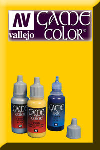 Confiant Game Color Gold Yellow 72007 Acrylic Paint Vallejo