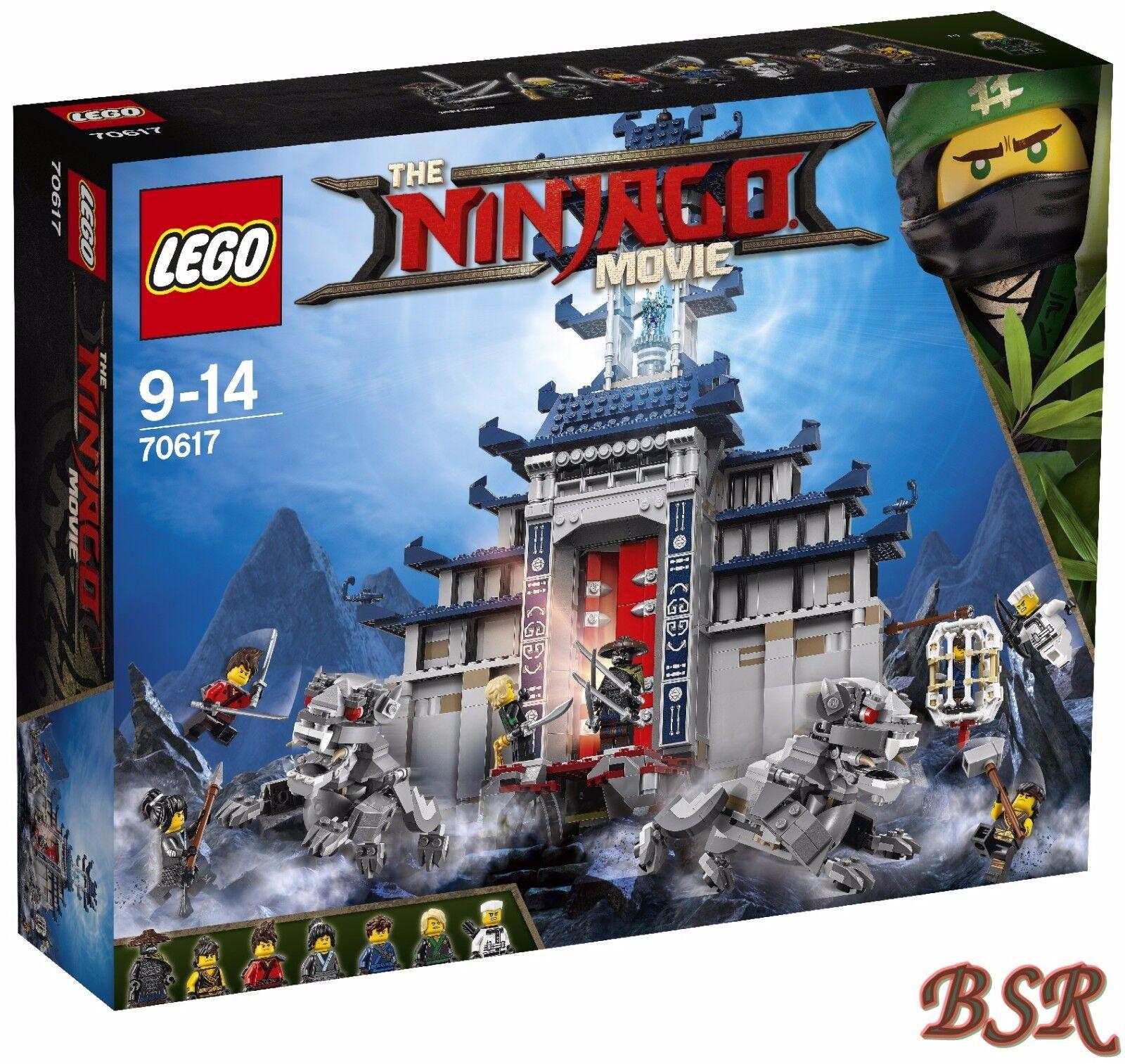 LEGO® Ninjago Movie  70617 Ultimativ ultimatives Tempel-Versteck 0.- Versand NEU