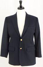 Nautica Boys Classic Navy Blazer Jacket Sport Coat Gold Buttons 16 R