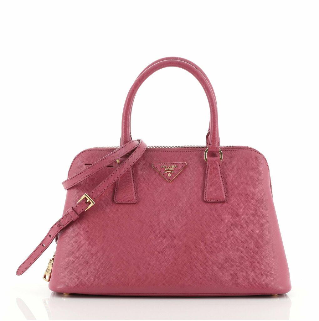 Prada Promenade Bag Saffiano Leather Medium    eBay