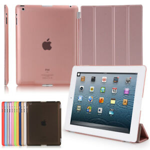 Smart-Magnetic-Leather-Stand-Auto-SLEEP-WAKE-Case-Cover-For-APPLE-iPad-Models