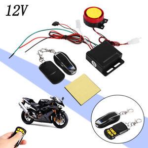 12v universal alarmanlage f r motorrad auto mit 2 fernbedienung alarm system pb1 ebay. Black Bedroom Furniture Sets. Home Design Ideas