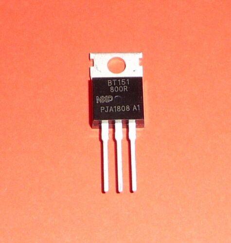 1 2 5 pezzi NXP Thyristor bt151 800r 12a 800v to220 dal bt151-800r