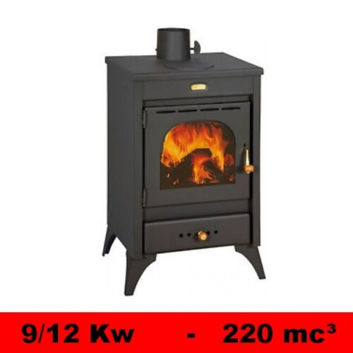 Fireplace Stove with Plate Baking Cast Iron 9//12 Kw Wood Stove Model Kyr