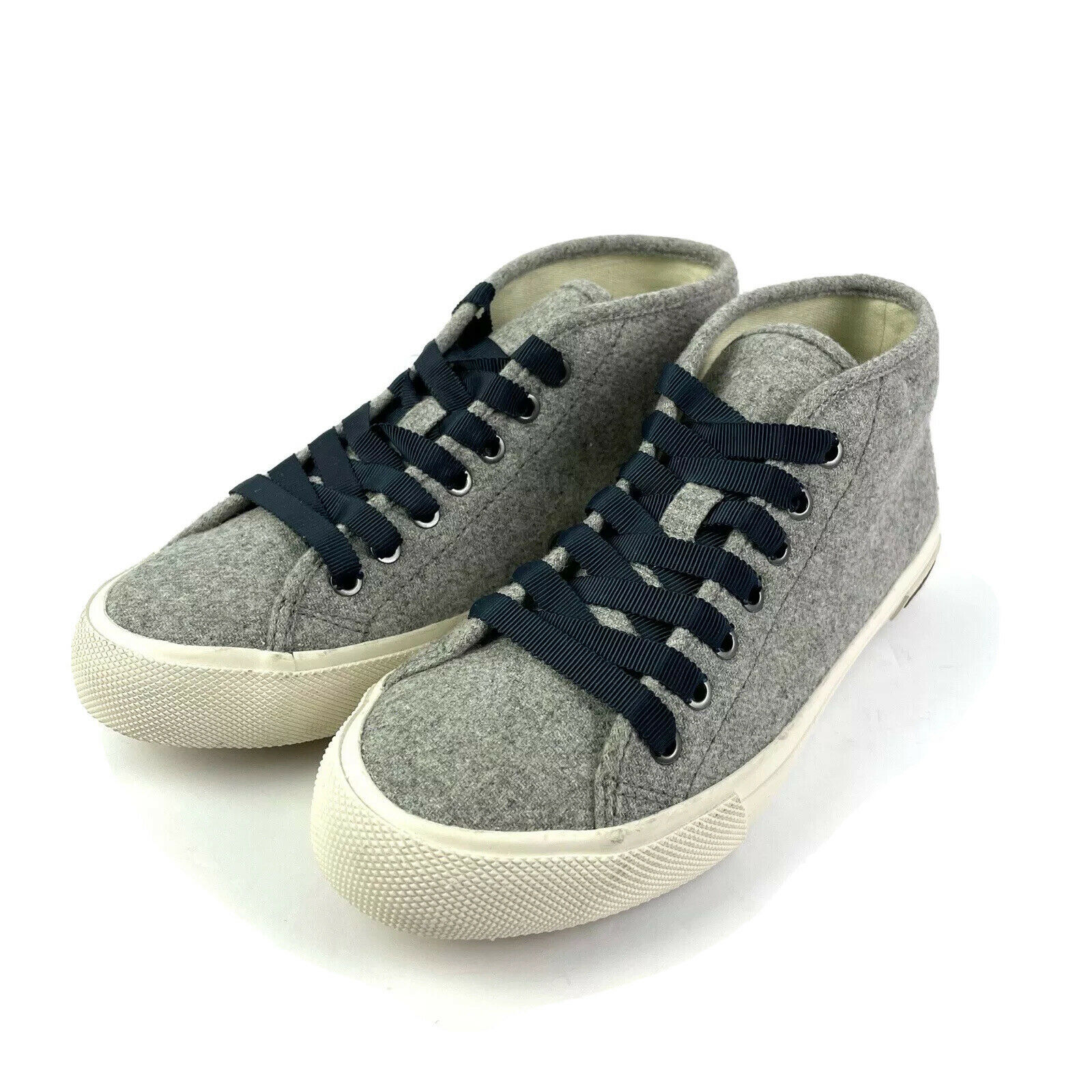 SeaVees Sneaker 6.5 California Special Varsity Wool Flannel Mid Top Shoe Womens