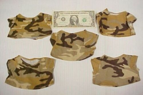 Africa Desert Outback New Lot 5 Greek Doll Camo Safari Shirts Tops Camouflage