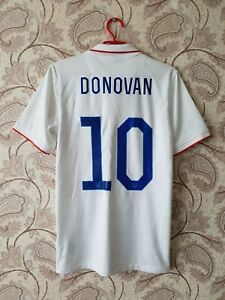 cheap for discount 06224 7cdf7 Details about USA 2014/2015 DONOVAN Nike Football Soccer Shirt Jersey LA  Galaxy United States