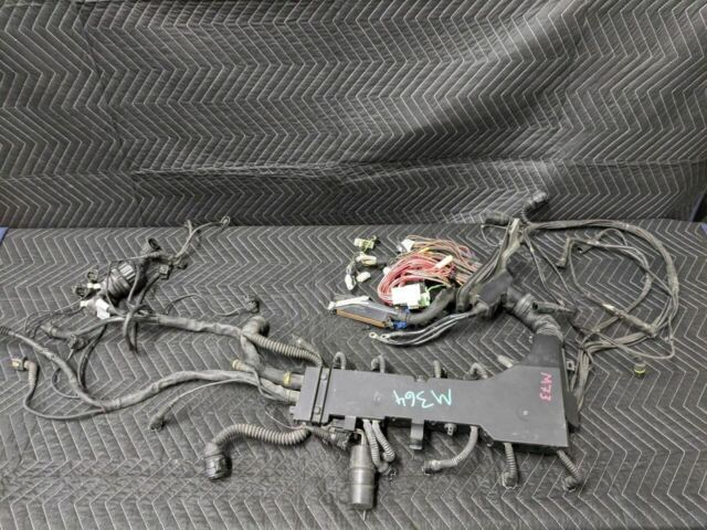 Bmw E38 7 Series M73 V12 Engine Wiring Harness Dme Ags 12511438405 Ebay