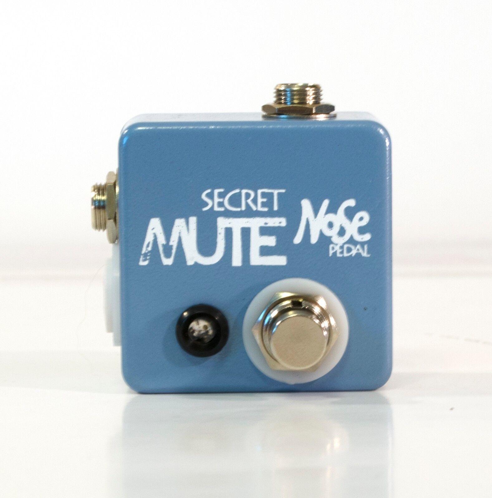 Pedal de nariz Secret interruptor de de de silencio con indicador LED d860ee