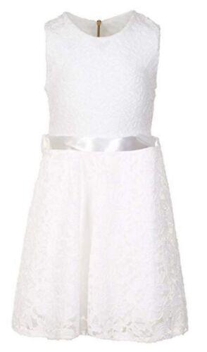 Fete Fille été dentelle robe communion cérémonie de mariage loisirs