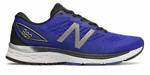 New-Balance-Men-039-s-880v9-Shoes-Blue-with-Black-amp-Silver