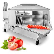 Vevor Commercial Tomato Slicer Cutter Fruit Dicer 316 Manual Restaurant