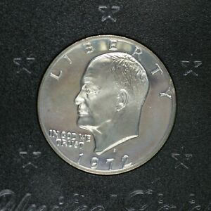 1972-S-Eisenhower-Silver-Dollar-US-Proof-Coin-A-300