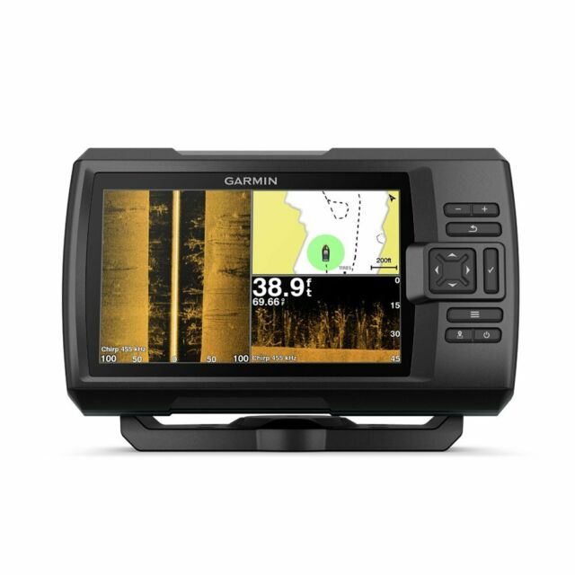 "Garmin Striker 7SV with Transducer, 7"" GPS Fishfinder with Chirp Traditional,"