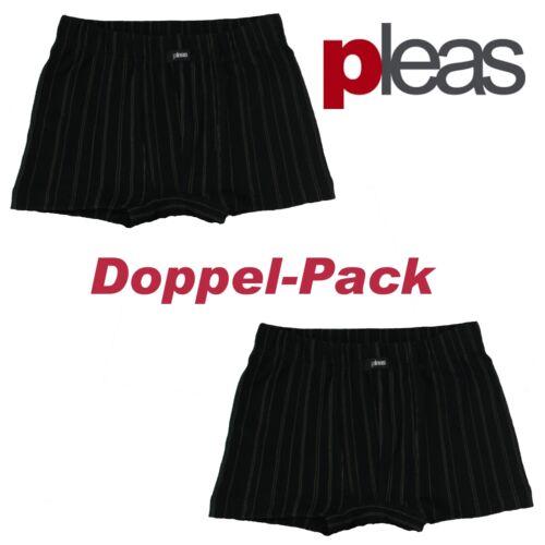 Kinder Unterhose Boxershort 100/% Baumwolle 2er Pack Gr.104,116,128,140 Pleas