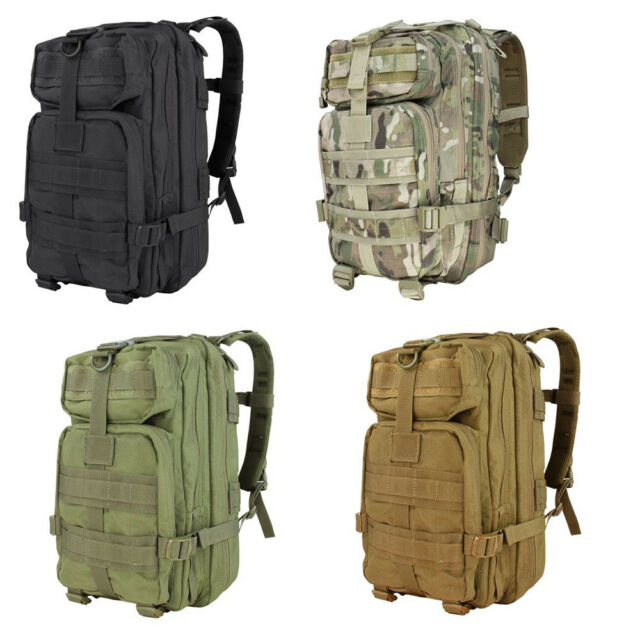 fb7c12213b7f Condor Compact Assault Pack MOLLE Rucksack Hydration Army Backpack ...