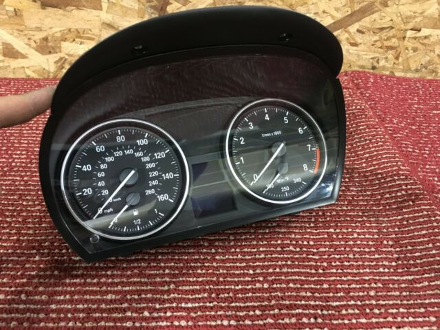 BMW Feo E90 E91 E92 E93 Front Cluster Speedometer Instrument Speedo Meter  Unit