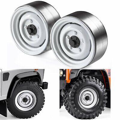 "RC 1//10 Alloy 1.9/"" Beadlock Wheels Rims for SCX10 D90 D110 CC01 TRX4 Crawler Car"