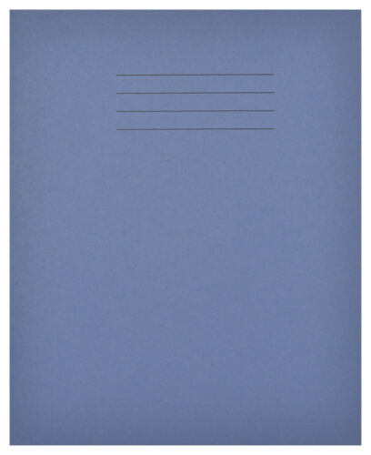 EX34270 Exercise Books 48 Pages 12mm Ruled Dark Blue Cover Pack of 1