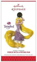 2013 Hallmark Disney's Tangled Fierce With A Frying Pan Ornament