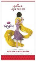 2013 Hallmark Disney's Tangled Fierce With A Frying Pan Ornament