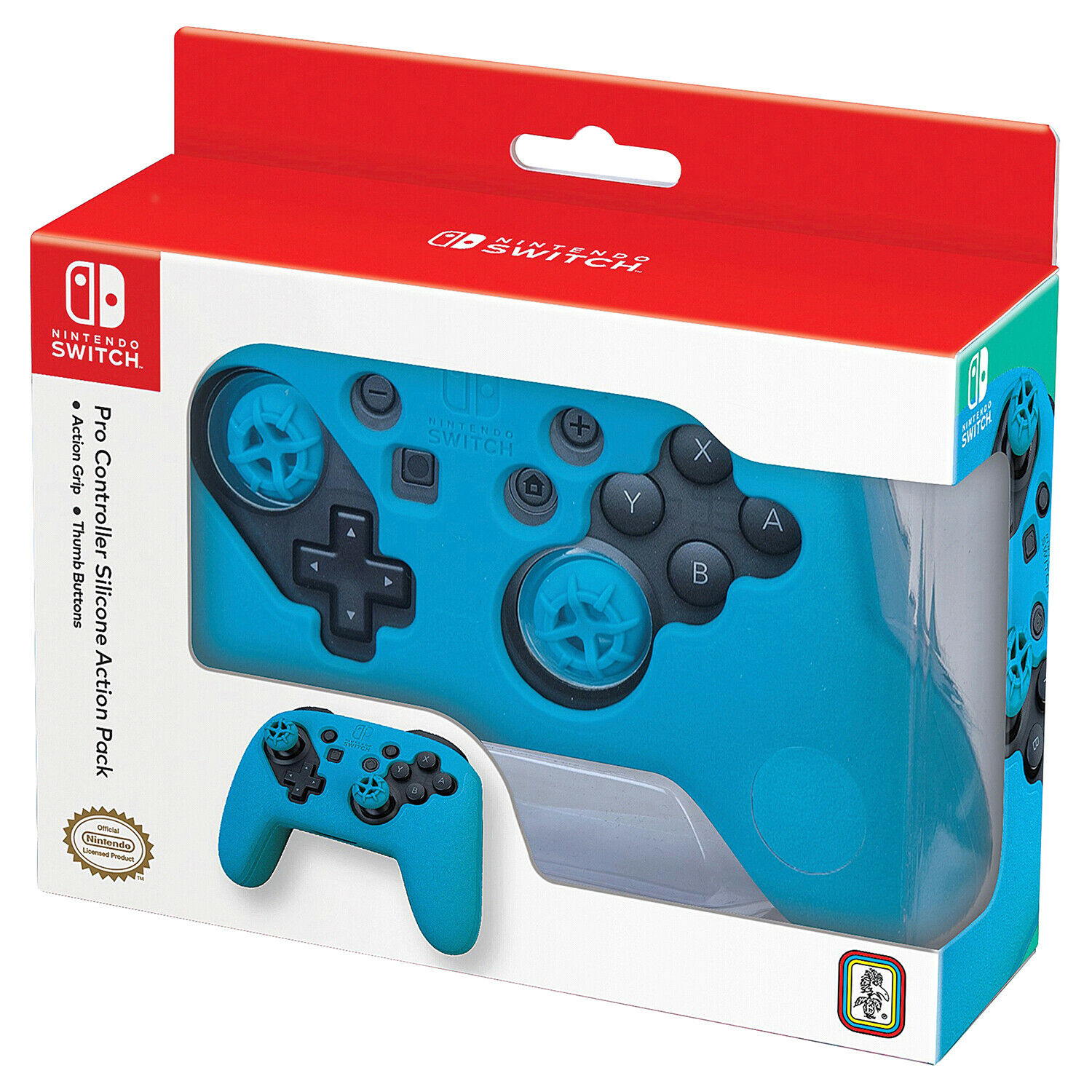 Nintendo Switch Pro Controller Silicone Action Pack Skin Cover Grey Nns6 For Sale Online Ebay