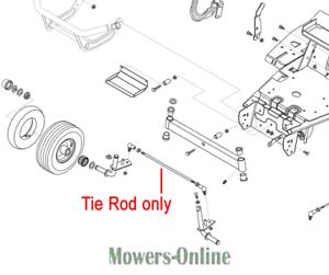Genuine AL-KO Tractor Steering Tie Rod 51404130 T850 T1000 T13-102 T15-102
