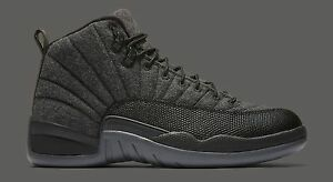2016 Nike Air Jordan 12 XII Retro Wool Size 7.5. 852627-003 1 2 3 4 5 6