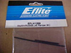 E-FLITE-HELICOPTER-PART-EFLH1266-BODY-MOUNT-ROD-SET-JET-RANGER-BCX