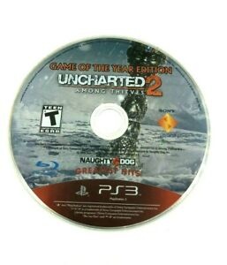 Uncharted 2: Among Thieves Game of the Year Edition (PS3) DISC ONLY
