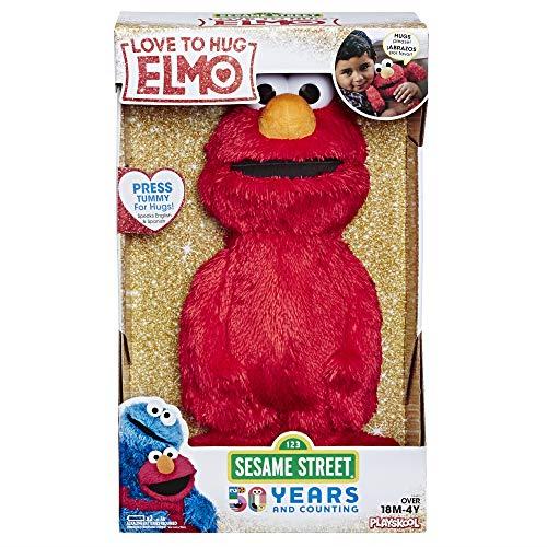 Sesame Street Love To Hug Elmo Talking Singing Hugging 14 Plush Toy For Kids
