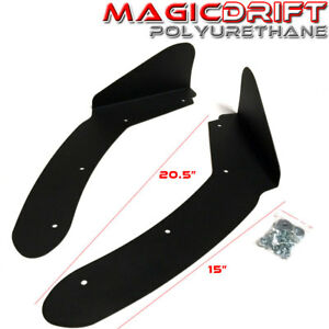 For-02-06-Acura-RSX-DC5-FRONT-BUMPER-ALUMINUM-WINGLET-SIDE-LIP-SPLITTER-WINGS