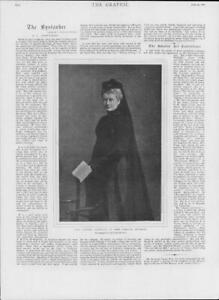 1901-Antique-Print-PORTRAITS-German-Empress-Voigt-Homburg-340