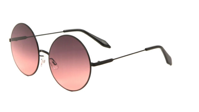 Classic Round Circle Unisex Sunglasses Mens Womens Festival Design London Style
