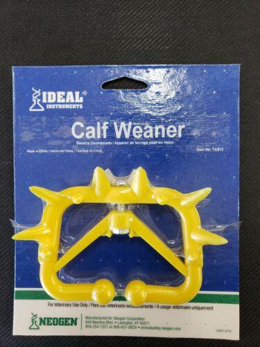 Ideal Instruments Plastic Calf Weaner Yellow
