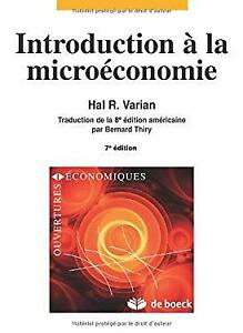 Introduction à la microéconomie. 3ème édition - Hal-R Varian