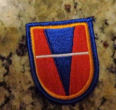 Armee Aufnäher Luftgestützte Barett Flash 738th Ingenieur Company Klar Und Unverwechselbar