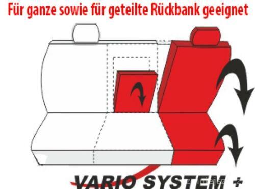 Mazda 5 Grau Universal Sitzbezüge Sitzbezug Auto Schonbezüge SUPERIOR