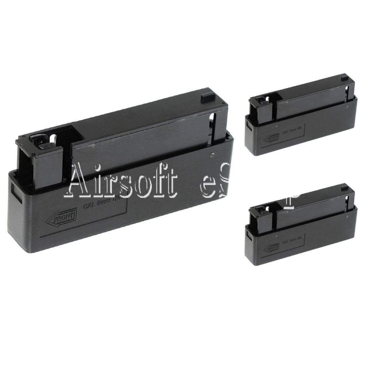 Airsoft 3pcs 25rd Mag Magazine For MB01 MB04 MB05 L96 Bolt Action Sniper Rifle