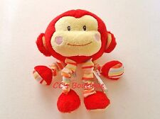 RUSS BABY soft plush toy monkey NWT Babies Love to Learn stuffed gift sounds
