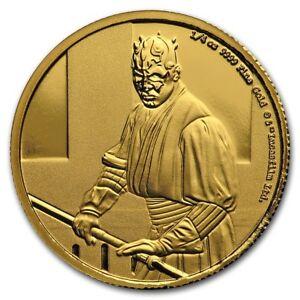 Niue-2018-Star-Wars-Classic-Darth-Maul-1-4-oz-Gold-Coin