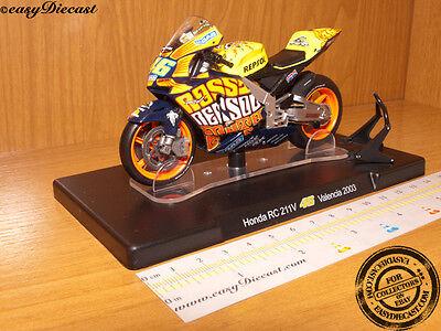HONDA RC211V VALENCIA 1/18 VALENTINO ROSSI MOTO-GP 2003