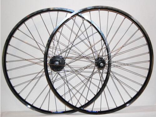 Fahrradteile & -komponenten Felgen mit Nabendynamo schwarz Shimano 3N31-NT 28/29,CUT19 U2 geöstes SET,vorn+hinten