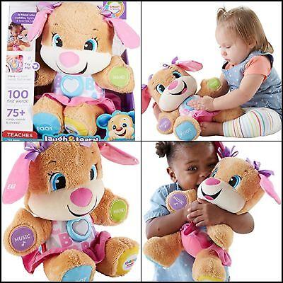 Development Toddler Baby Girl Plush Stuffed Toy Educational Learning Music Doll
