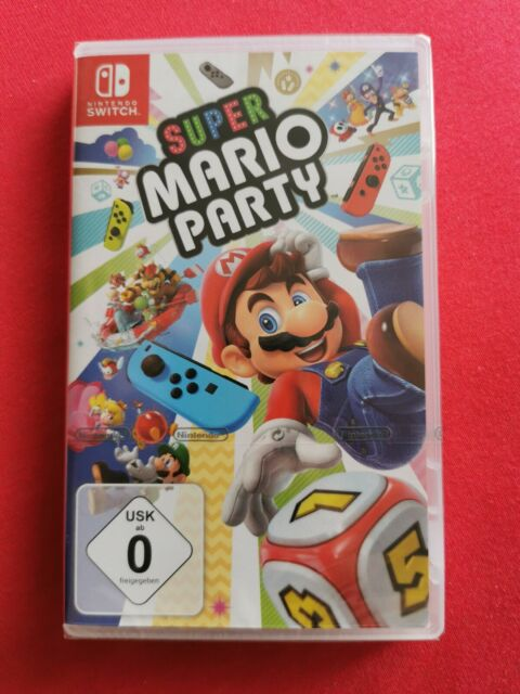 NEU - Super Mario Party - Nintendo Switch - NEU & OVP