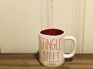 Rae-Dunn-Christmas-By-Magenta-JINGLE-BELLS-LL-Farmhouse-Red-Interior-Mug